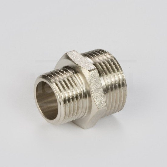 "Ниппель General Fitings 1/2""х1"" НР-НР (латунь)"